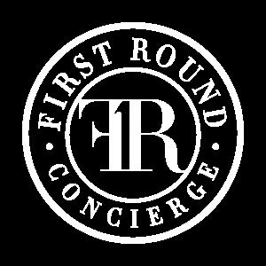 First Round emblem white