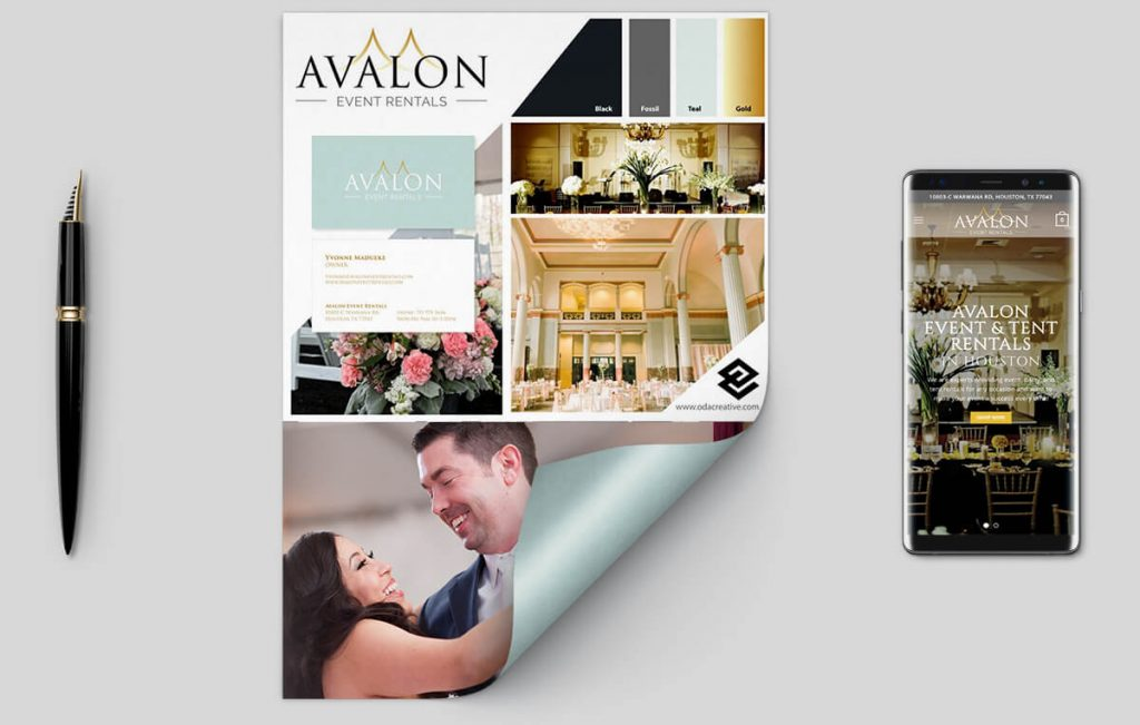 avalon-event-rentals-branding
