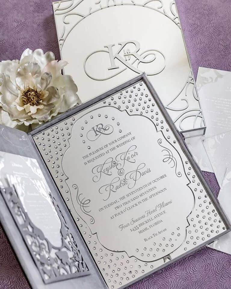 Gucci Mane Wedding Invitation