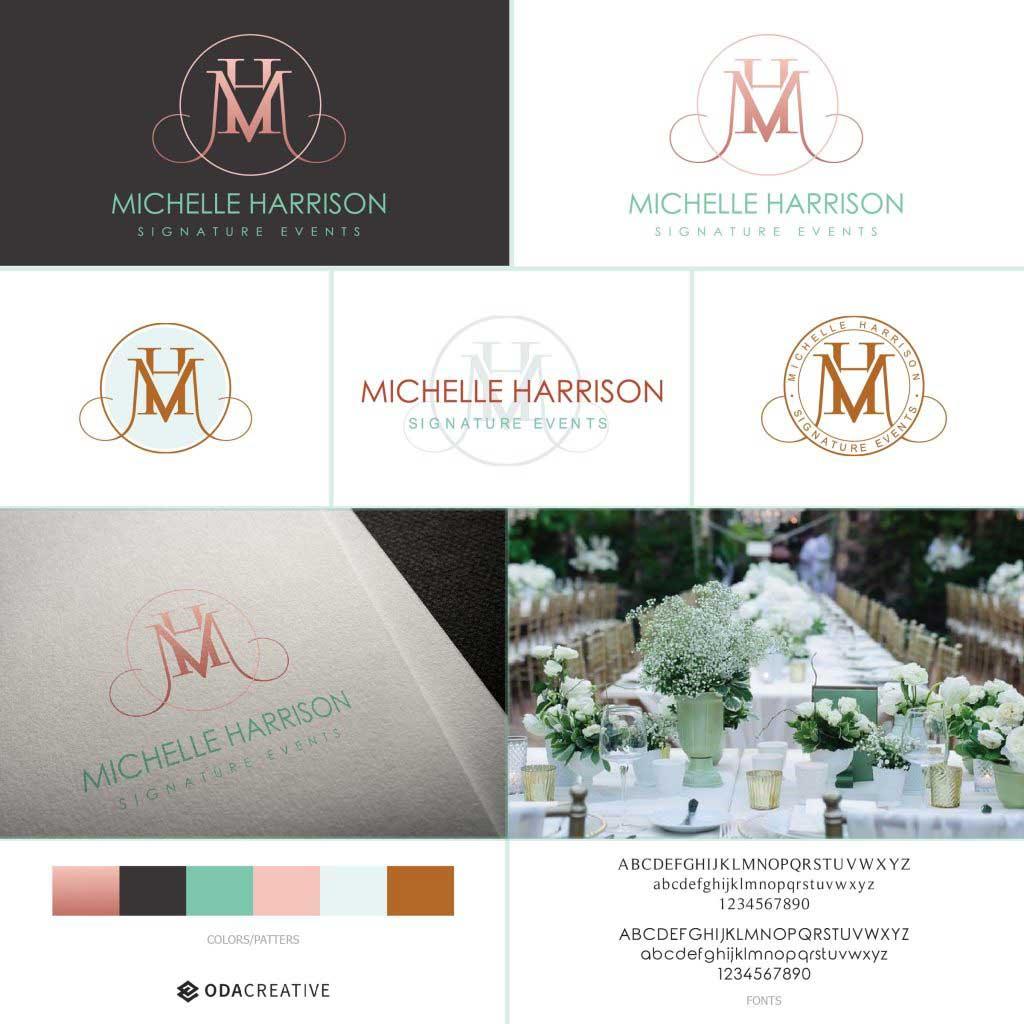 Michelle Harrison style guide moodboard