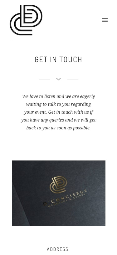 Dconcierge website responsive 2