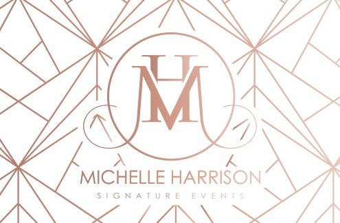 michelle harrison business card back