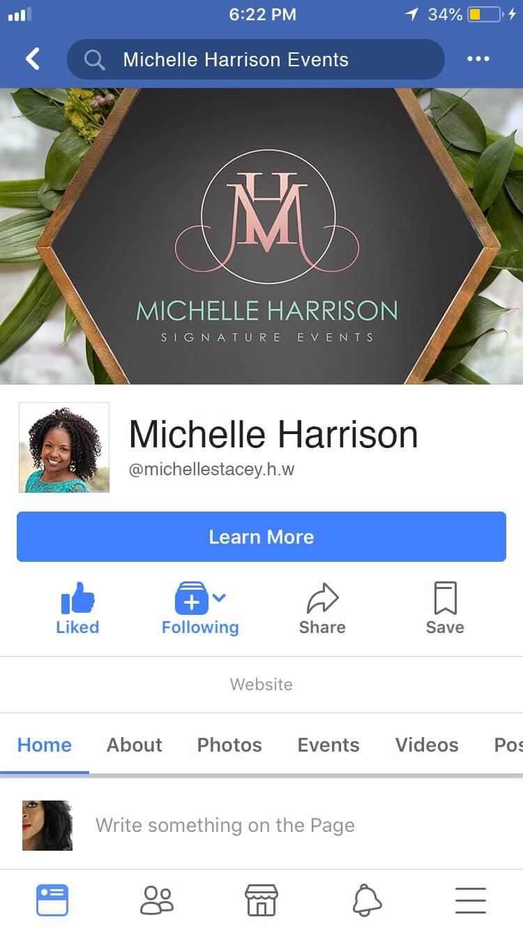 Michelle harrison social MobileiOS