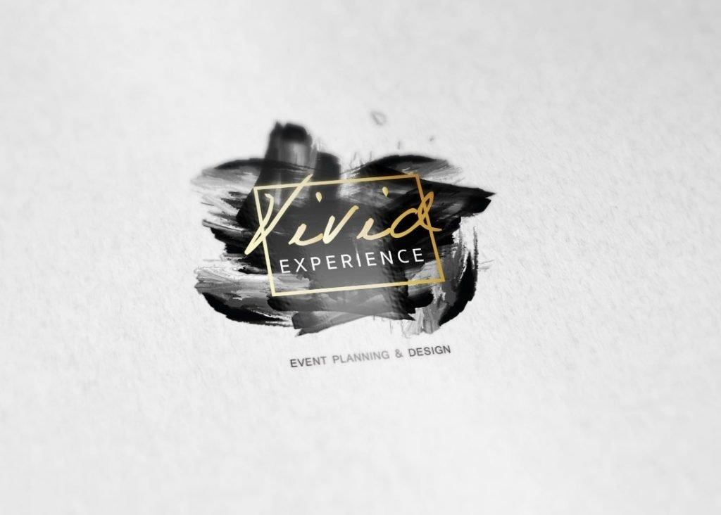 Vivid experience black logo