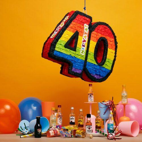 Modern Art Birthday Party