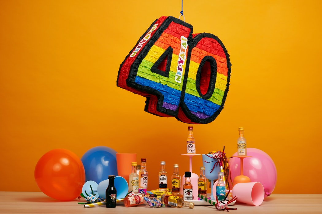 A Modern Art Birthday Party