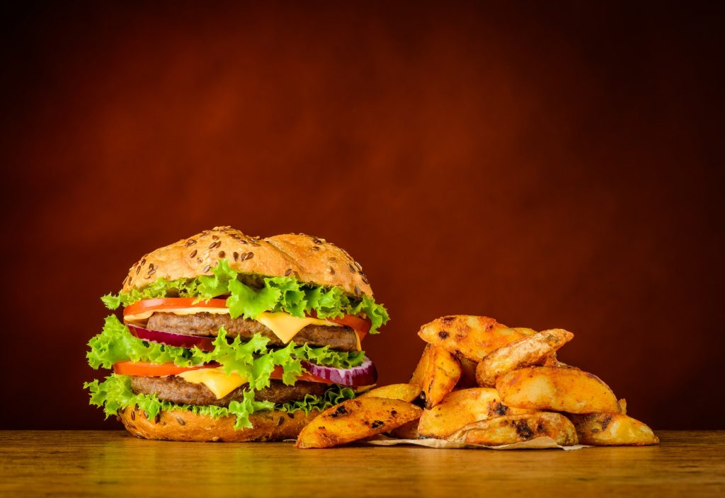 A fast food restaurant can build a brand to differentiate themselves from competition
